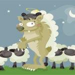 Фразеологизм волк в овечьей шкуре