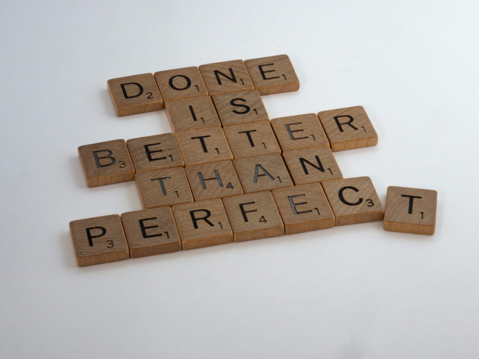 Перфекционизм - что это такое и как избавиться?