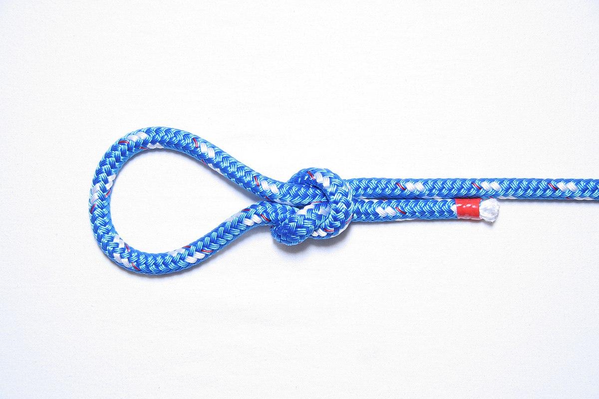 Скользящий узел – что это такое, и как его завязывать